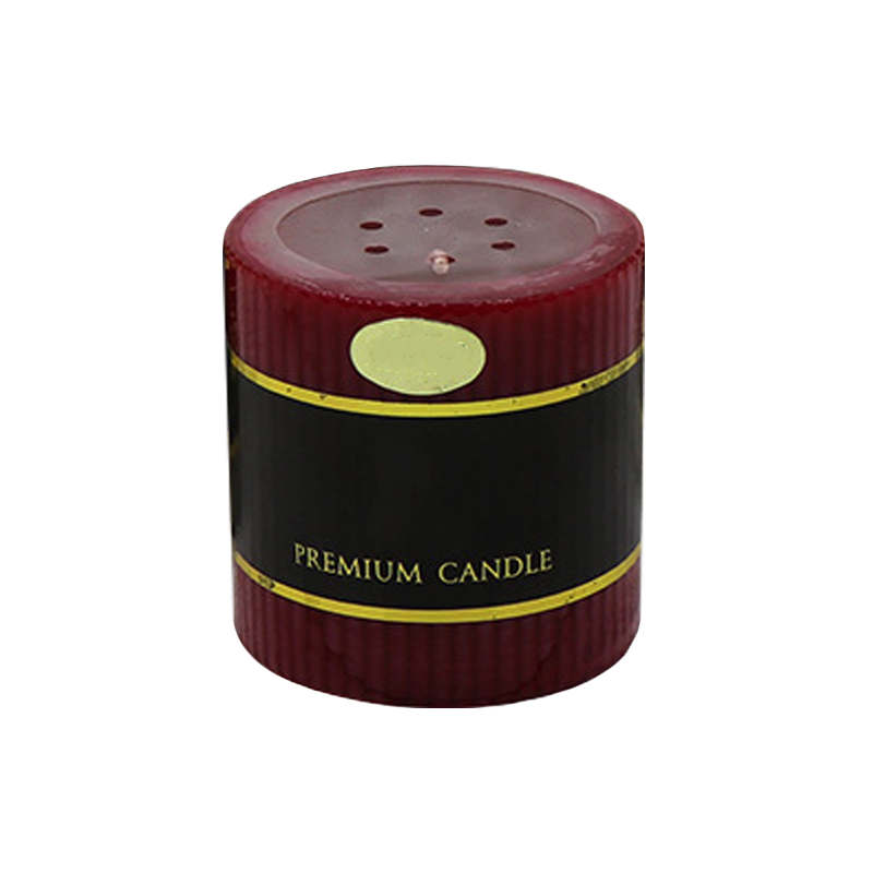Free samples supply Wholesale scented pillar candle UK with private label
